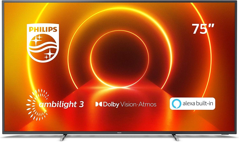 Philips 75PUS7805/12 Fernseher 75 Zoll 4k um 944,50€ anstatt 1.149€