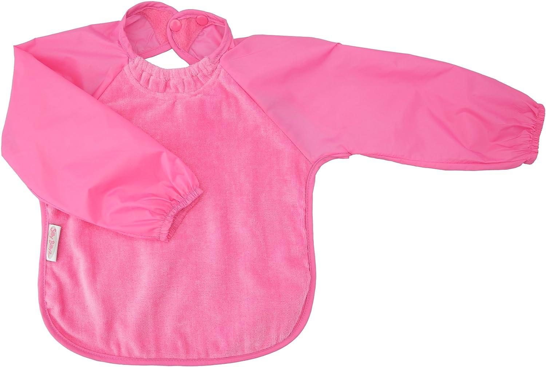 Silly billyz 3260303 Long Sleeve Bib Pink 6-24 Months