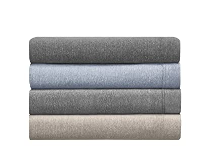 Elegant Morgan Home Fashions Cotton Rich T Shirt Soft Heather Jersey Knit Sheet Set    All