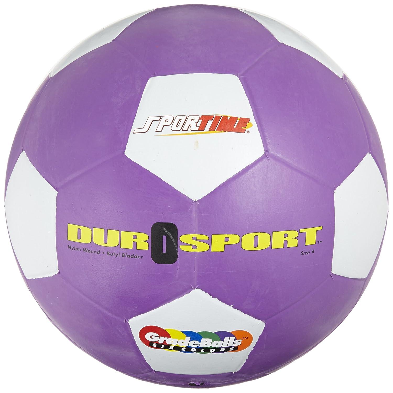 Escuela inteligente - Balón de fútbol (tamaño 4), color morado ...