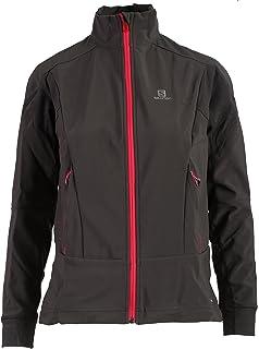 39cb65ad5c Amazon.com  Salomon Women s Equipe Soft-Shell Jacket  Sports   Outdoors