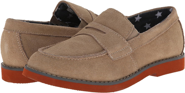 Toddler//Little Kid//Big Kid Florsheim Kids Rodeo JR Uniform Slip-On Penny Uniform Loafer