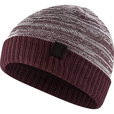 reputable site 002ff a6918 Nike SB Cuffed Beanie - AA9976 (Burgundy Crush White Black) at Amazon Men s  Clothing store