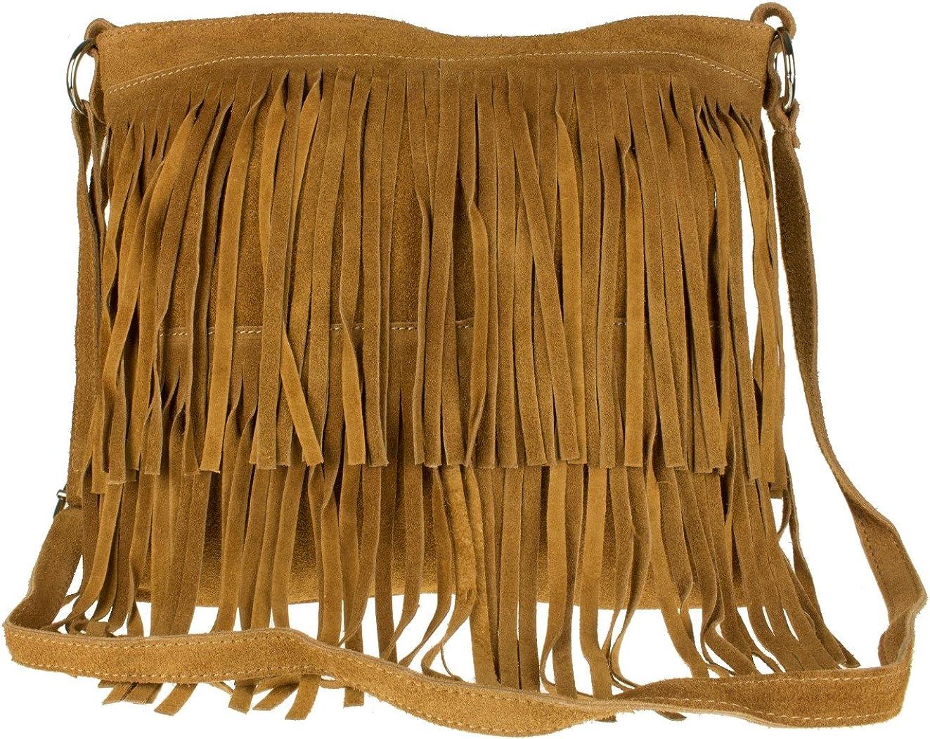 Girly Handbags Suede Fringe...
