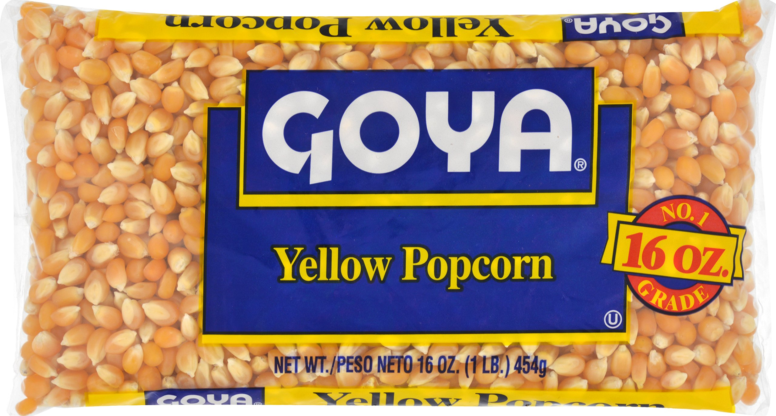 Goya Foods Yellow Popcorn, 16-Ounce (Pack of 24)