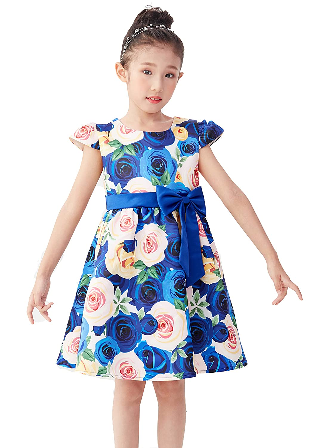 61098f40d87 ... COMFORTABLE MATERIAL  ❦This girls dresses is soft and comfortable  material