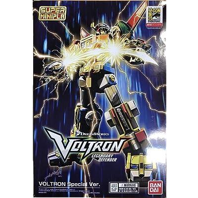 """Bandai 28915 Voltron (Exclusive Set) Sdcc 2020""""Voltron, by Bandai Super Mini Pla: Toys & Games"""