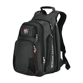 55b894133c Wilson Golf Reisebag Backpack Mochila, Unisex, Negro/Gris, DE: 32 X 21 X 44  cm: Amazon.es: Deportes y aire libre