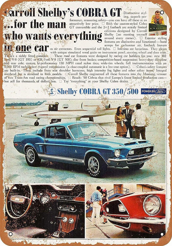 mefoll - Cartel de Metal de 8 x 12 cm, diseño de Ford ...