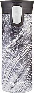 Contigo Stainless Steel Coffee Couture AUTOSEAL Vacuum-Insulated Travel Mug, 14 oz, Black Shell