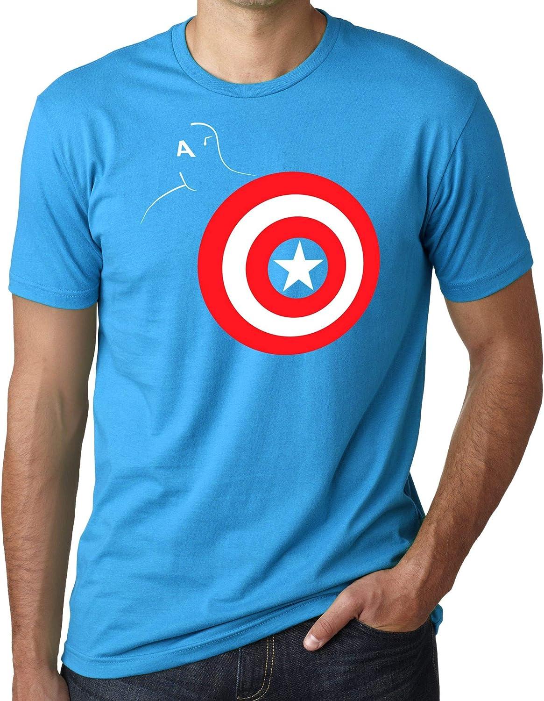 Camiseta de Mujer Capitan America Hulk Thor Iron Man: Amazon ...