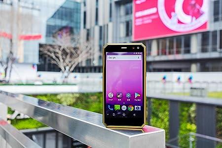Movil Indestructible - Smartphone Resistente IP68 5.0 Pulgadas FHD Android 7.0 4G LTE Dual Sim 2GB+16GB 5.0MP + 13.0MP Cámara Dual (Naranja): Amazon.es: Electrónica