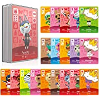 24 Pcs ACNH NFC Tags Game Cards for Amiibo Animal Crossing New Horizons, Compatible with Nintendo Switch/Lite/Wii U/New…