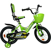 Cosmic Ziva 16 inch Kids Bicycle - Green/Black