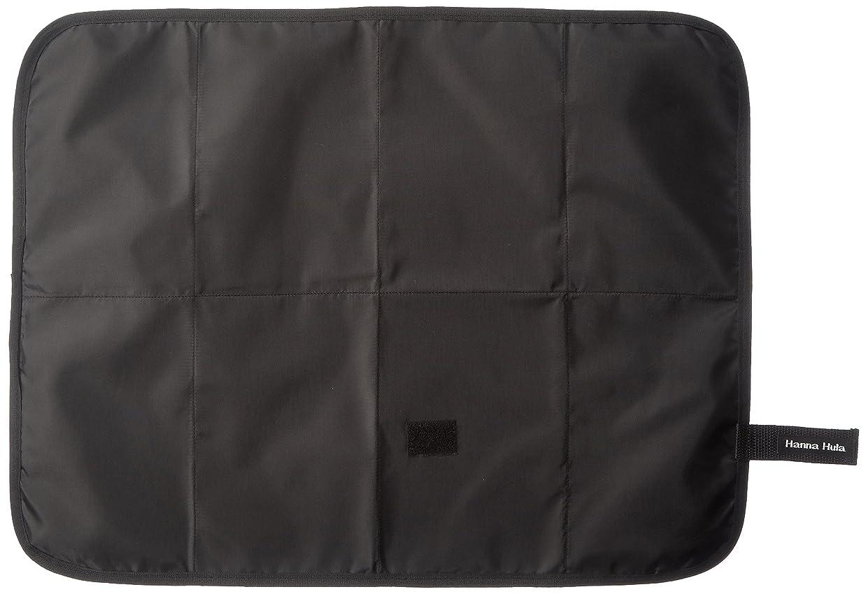 フェローシップ発見する手のひらLuxja 防水オムツ替えシート ポケット付き 持ち運びカンタン 外出用 家用 グレーのシェブロン