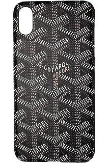 online retailer 4b66c e5834 Goyard White Case / Color Black Rubber / Device iPhone 6/6s: Amazon ...
