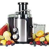 Duronic JE5 Mini Centrifugeuse de 500W pour fruits entiers