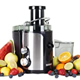 Duronic JE5 Compact Whole Fruit Centrifugal Power Juicer with Jug - 1 Years Warranty