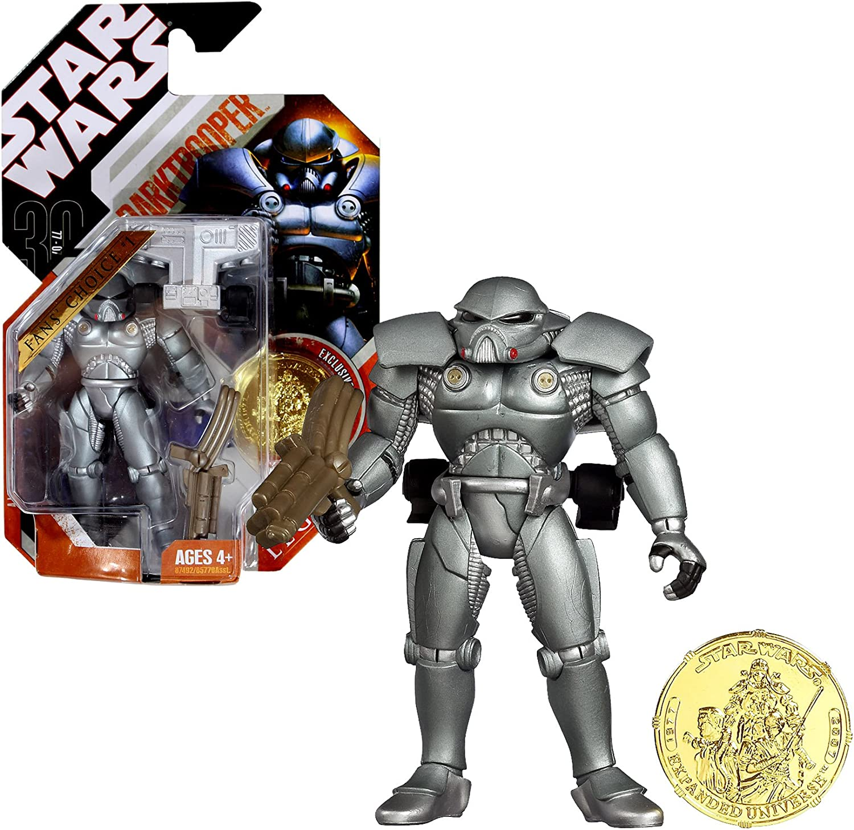 Sandtrooper VARIANT #4 2007 STAR WARS 30th Anniversary MOC Saga Legends