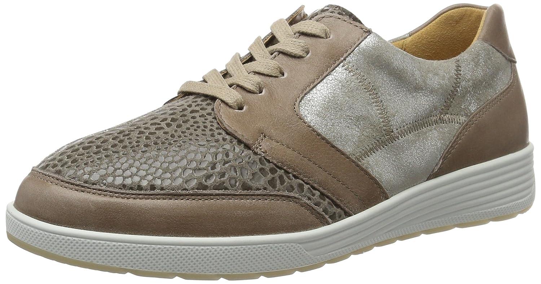 Ganter Sensitiv Klara-k, Zapatos de Cordones Derby para Mujer 40.5 EU|Beige (Taupe)