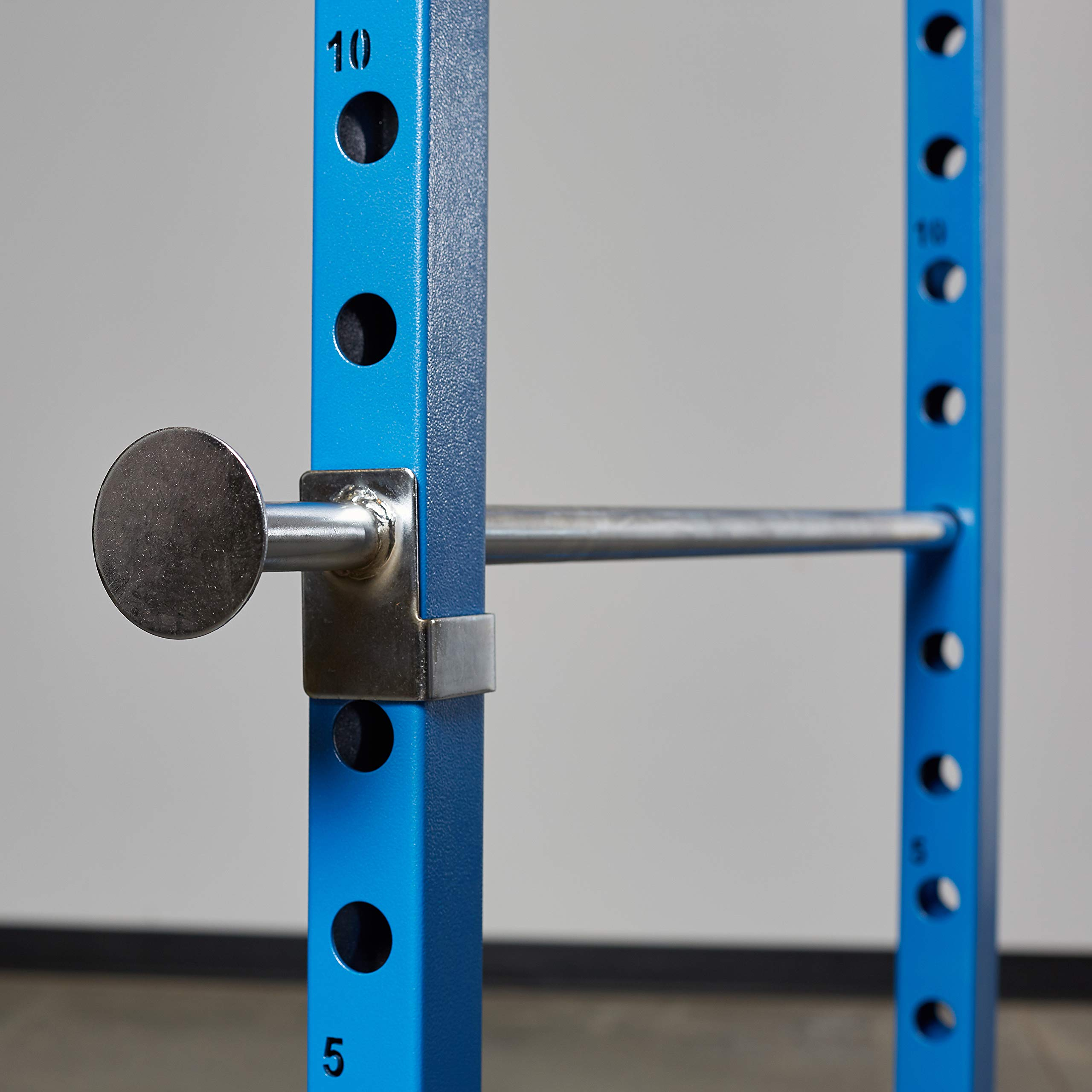 Rep PR-1100 Power Rack - 1,000 lbs Rated Lifting Cage for Weight Training (Blue Power Rack, No Bench) by Rep Fitness (Image #3)