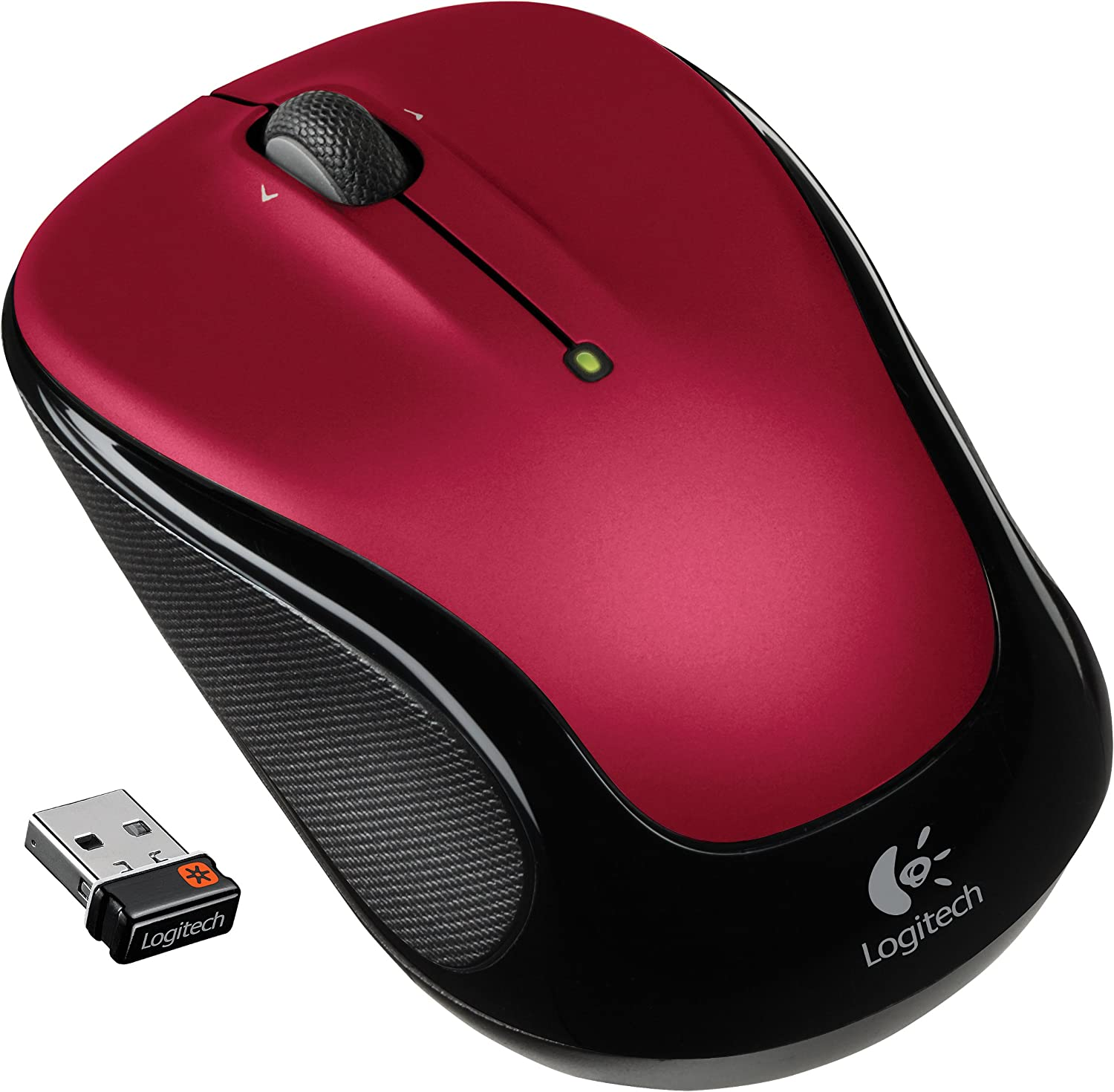 Logitech Wireless Mouse M325 with Designed-For-Web Scrolling - Red