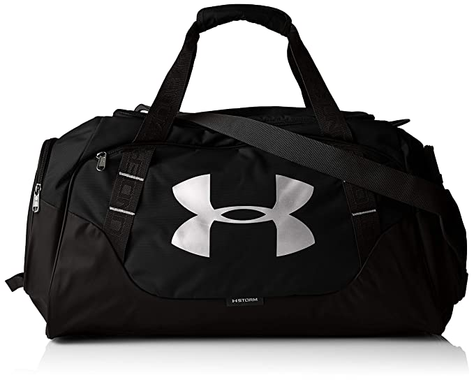 ce714355e08 Under Armour Undeniable Duffle 3.0 Gym Bag, Black /Silver, X-Small