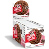 Lenny & Larry's The Complete Cookie, Double Chocolate, Soft Baked, 16g Plant Protein, Vegan, 4-Ounce Cookies (Pack of 12)