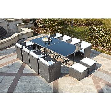 Mon Usine LSR-310-GR/WH 8C4F Le Vito Salon Jardin encastrable en ...