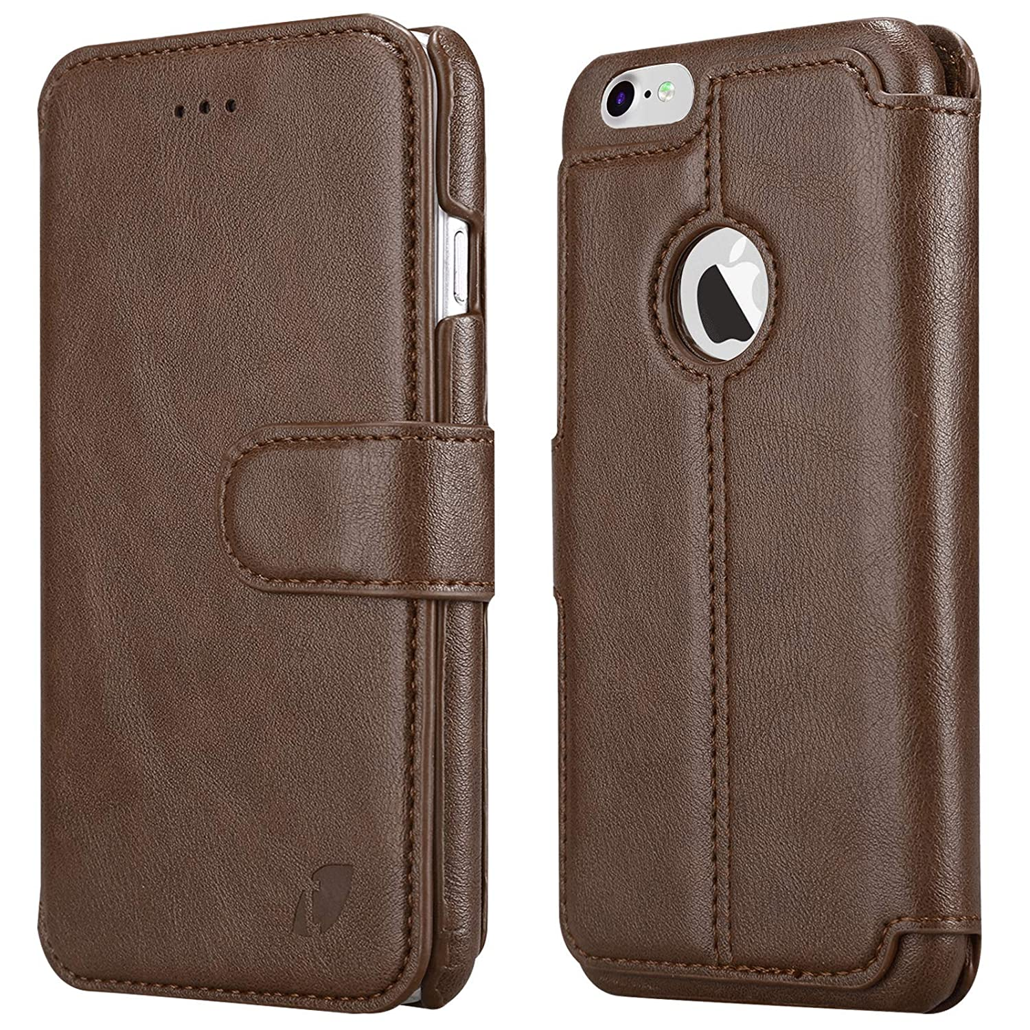 san francisco 7d1f9 ed862 Techstudio Leather Flip Cover Case for Apple iPhone 7 iPhone 8 Extreme  Series
