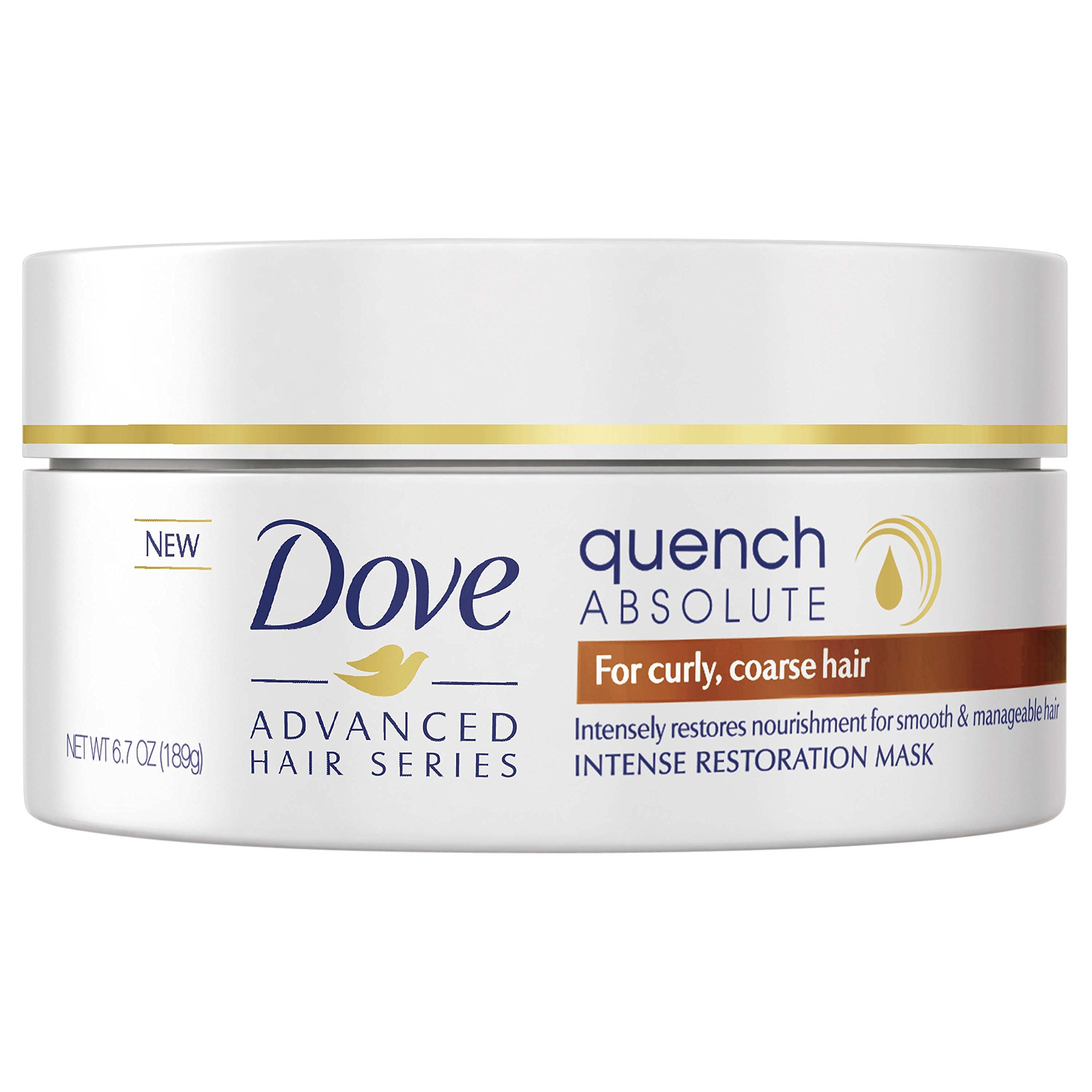 Dove Advanced Hair Series Intense Restoration Mask, Quench Absolute 6.7 oz