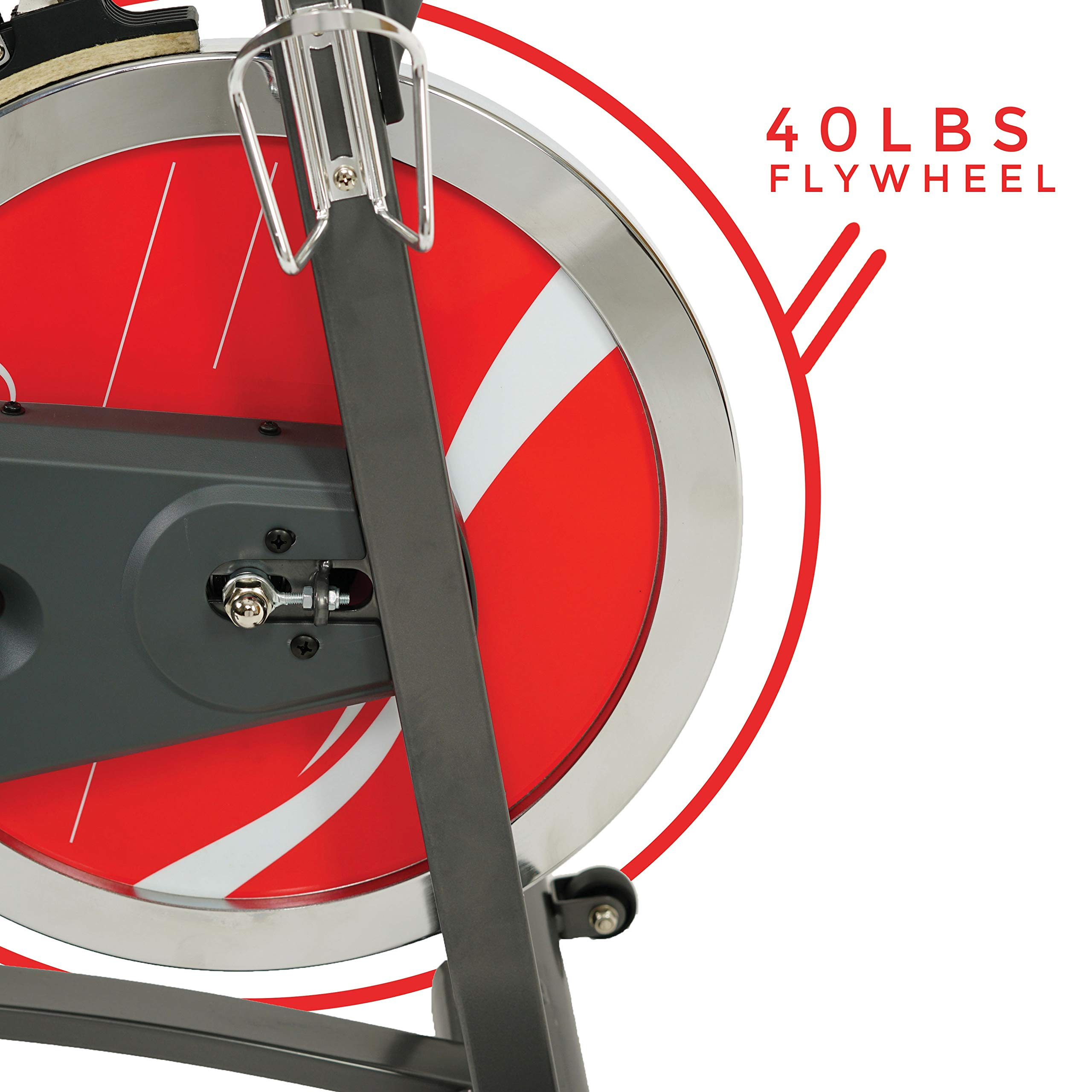 Sunny Health & Fitness Belt Drive Indoor Cycling Bike SF-B1423 by Sunny Health & Fitness (Image #10)