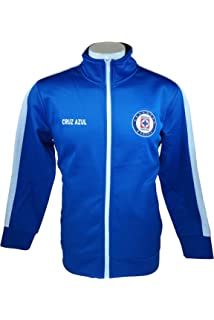 Cruz Azul Official License Soccer Track Jacket Football Adult Size 004