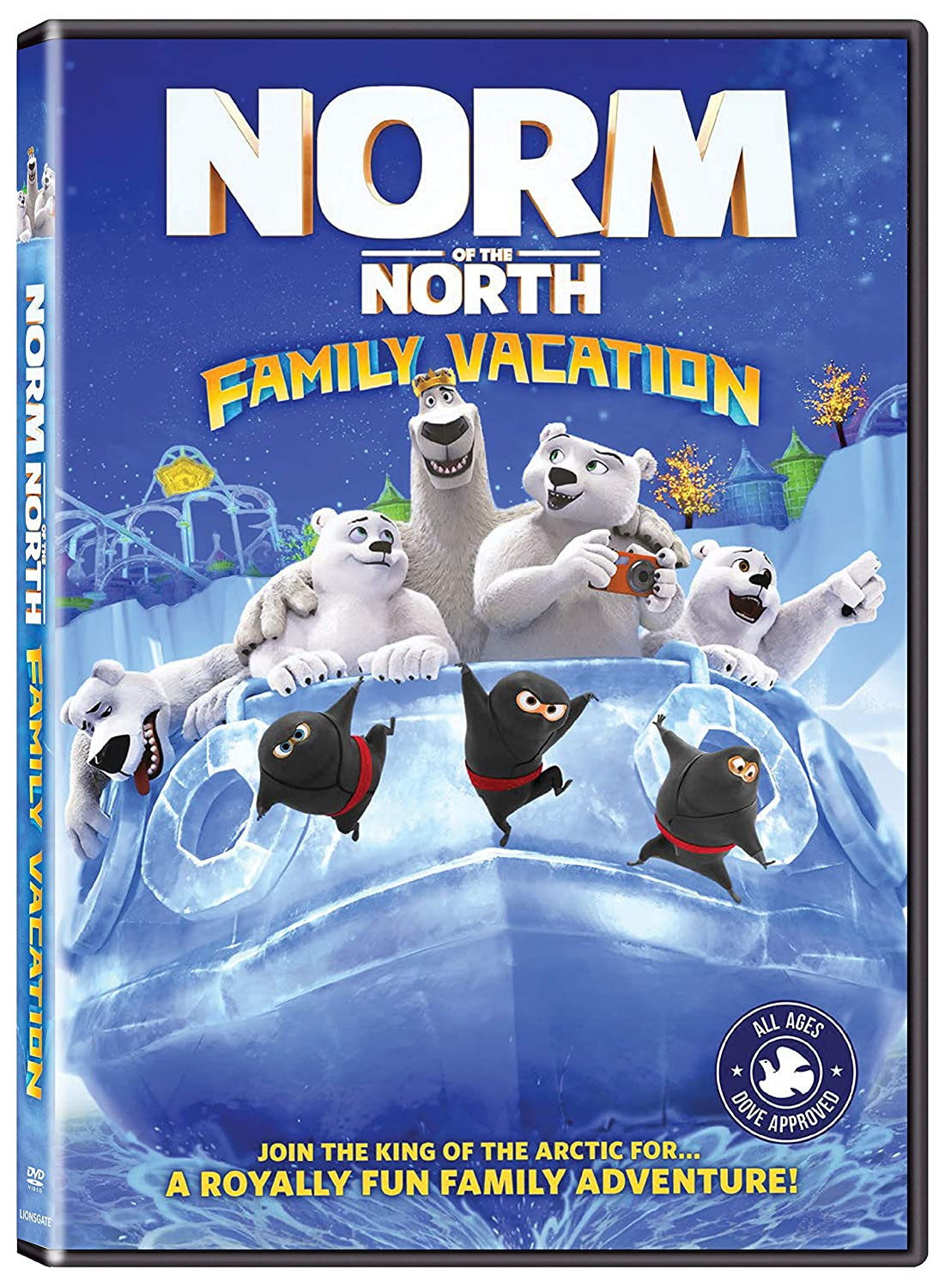 Amazon Com Norm Of North Family Vacation Paul Dobson Brian Drummond Movies Tv