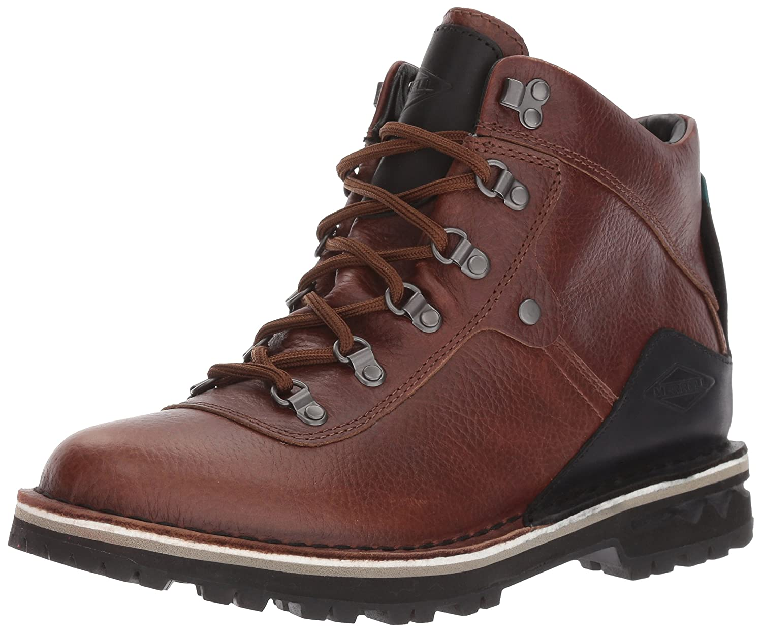 Merrell Women's Sugarbush Refresh Waterproof Hiking Boot B01MTC4I9U 6 B(M) US|Dark Earth