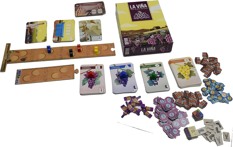 Devir Iberia-Trapwords, Juego de Mesa, Multicolor (BGTRAP): Amazon ...