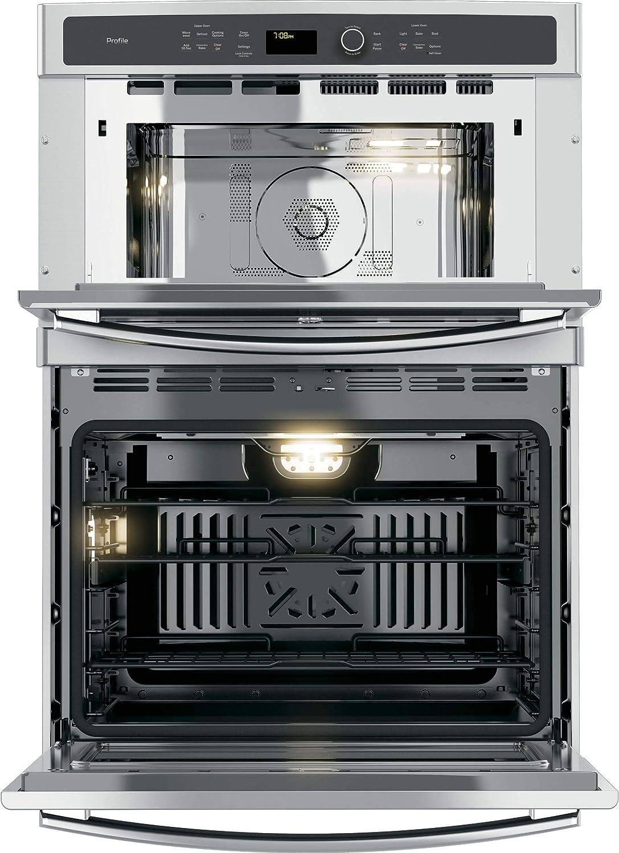 GE PT7800SHSS Microwave Wall Oven