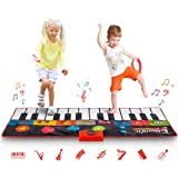Abco Tech Giant Piano Mat - Jumbo Floor Keyboard with Play, Record, Playback and Demo Modes - New Look - 8 Different…