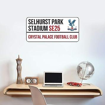 Crystal Palace Football Club Stadium Street Sign Wall Sticker Art Mural Decal Vinyl