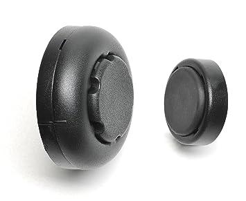 BL638 Retenedor para persiana mallorquina negro pl/ástico 2 unidades