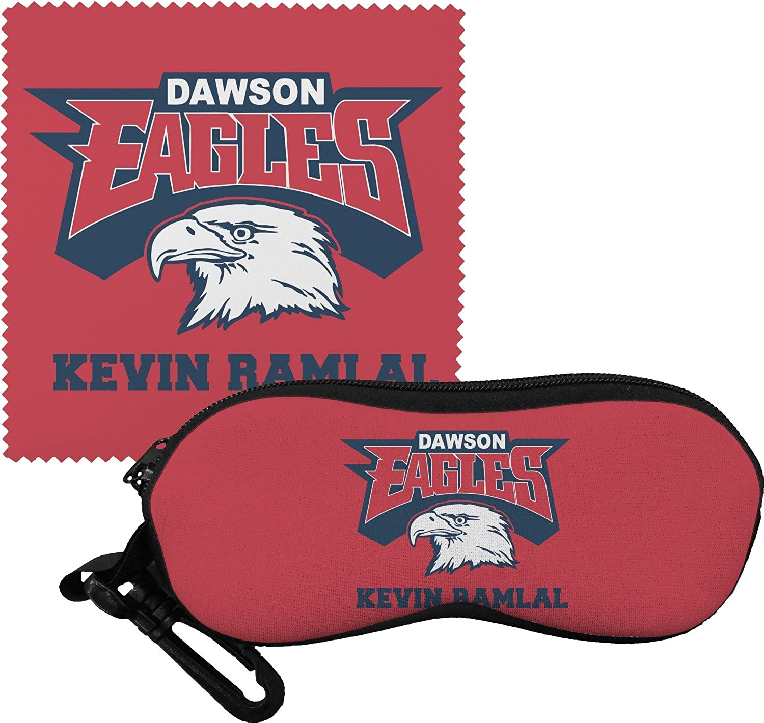 DHS Logo Eyeglass Case & Cloth (Personalized)