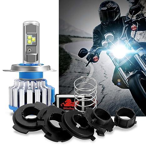 Win Power-40W H4(HB2 9003) LED Bombilla de Faro para Motocicletas-
