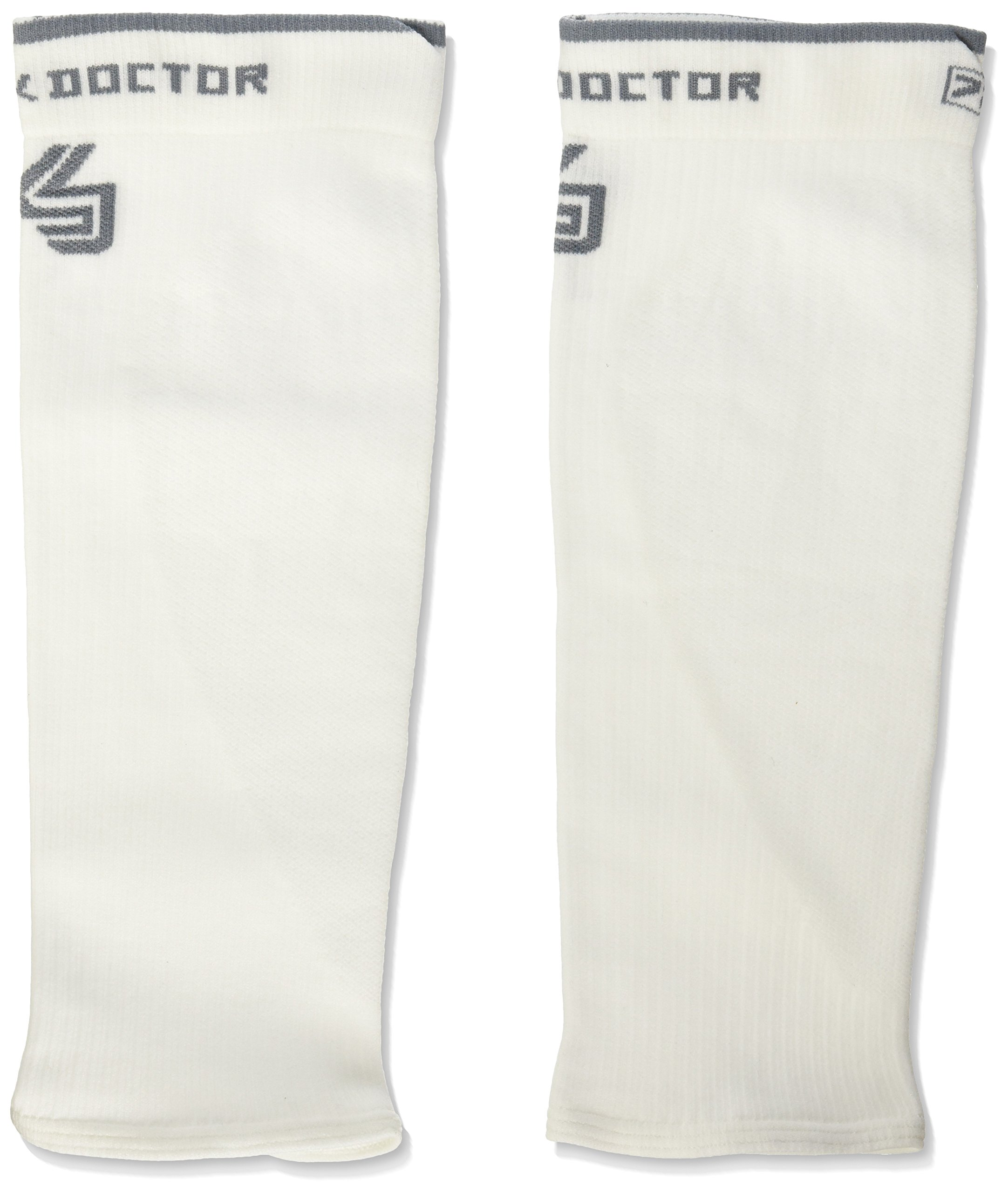 Shock Doctor SVR Recovery Compression Calf Sleeve, White, Adult-X-Large by Shock Doctor