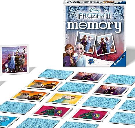 Ravensburger Disney Frozen 2 Mini memoria para niños a partir de 3 años clásico a juego de pares, color, 0 (20437) , color/modelo surtido: Amazon.es: Juguetes y juegos