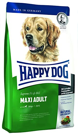 Happy Dog Dry Dog Food Adult Maxi 15 Kg Amazon Co Uk Pet Supplies