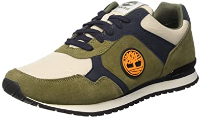 514e5ae56 Timberland Men s Retro Runner Oxlichen Green Oxford  Amazon.co.uk ...