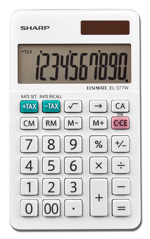 Amazon Sharp Calculators El 377wb Business Calculator White