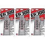 E6000 237032 Multipurpose JXTZcN Adhesive, 2 fl oz Clear (Pack of 3)