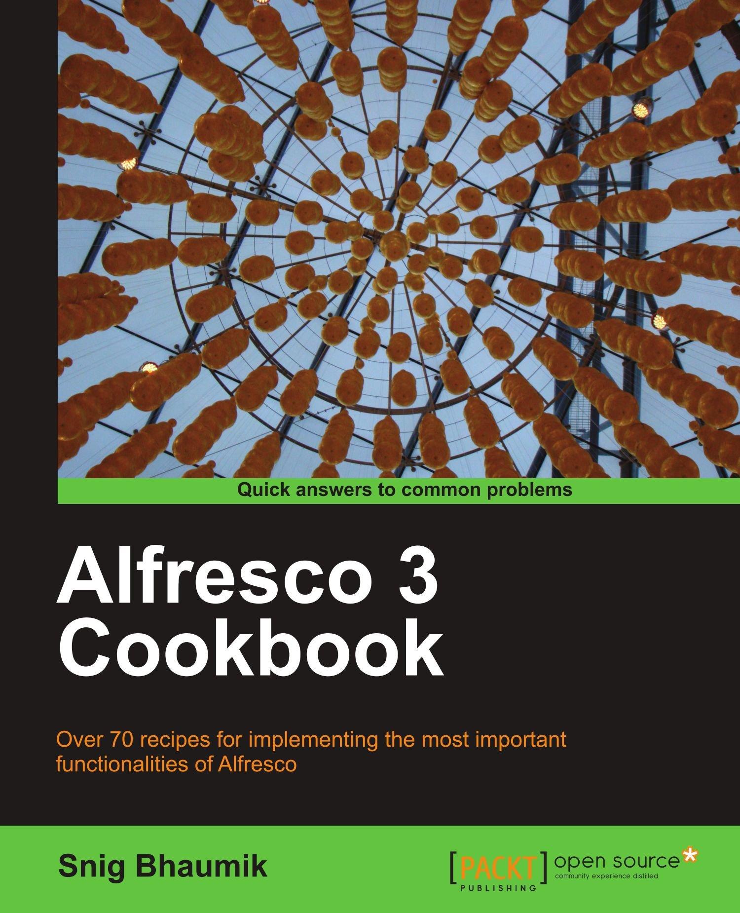 Download Alfresco 3 Cookbook ebook