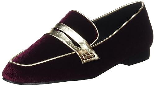 Noa Harmon 7216-37, Mocasines para Mujer, Rojo (Burdeos), 37 EU: Amazon.es: Zapatos y complementos